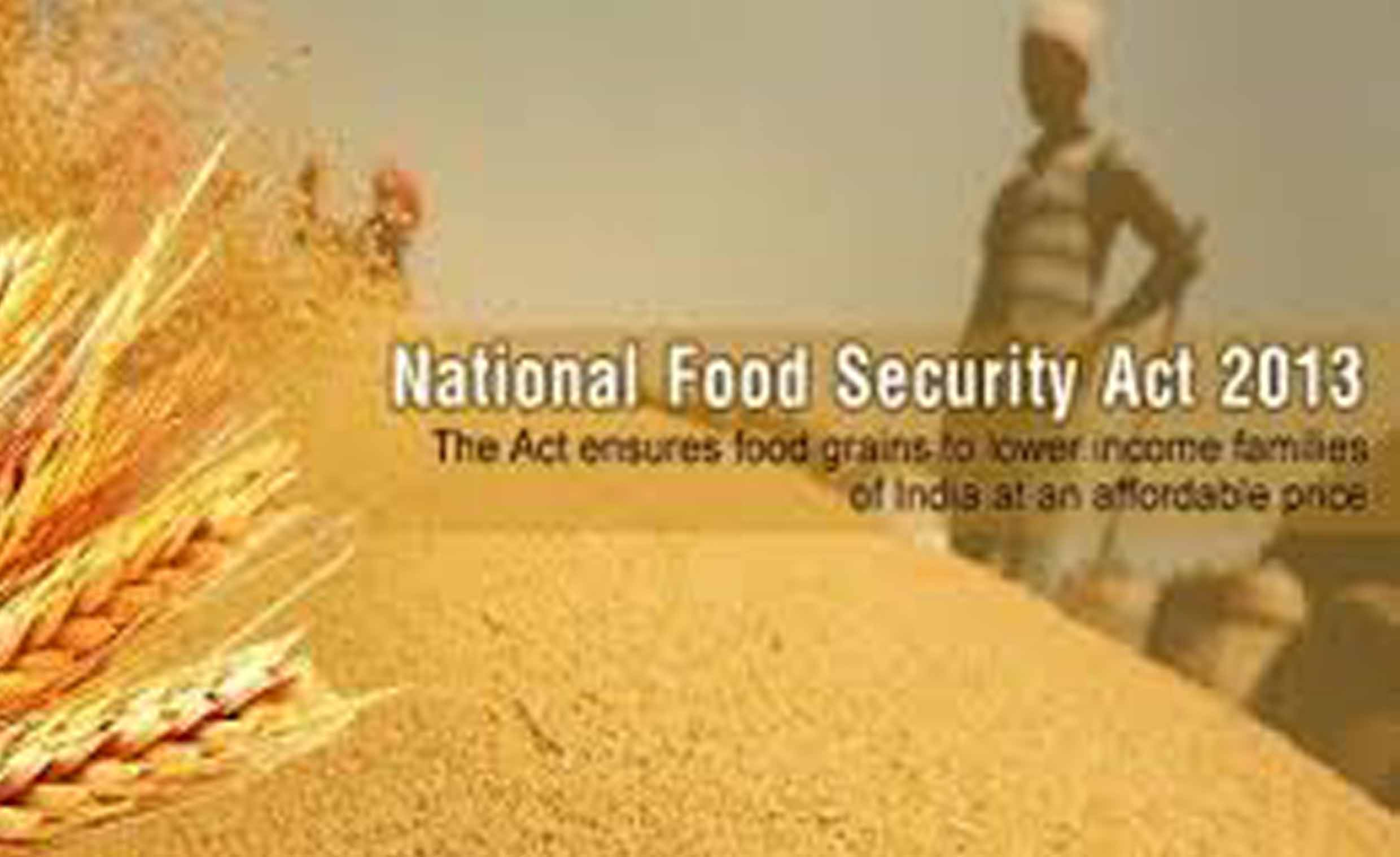 national food security bill 2013 introduced 03092013 the national food security bill, 2013 passed by the parliament monday gives right to subsidised food grain to 67 percent of india's 12 billion people and.